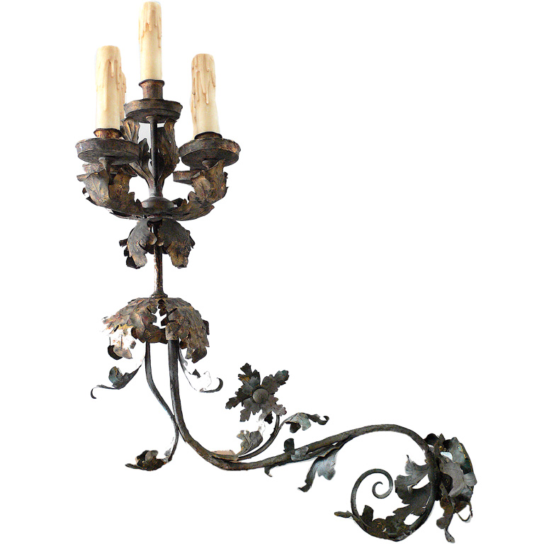 Trove Laguna.pair antique french sconces