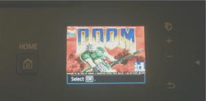 Installare Doom su una stampante Canon? Si può!