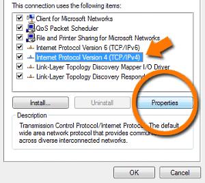Windows Vista TCPIP