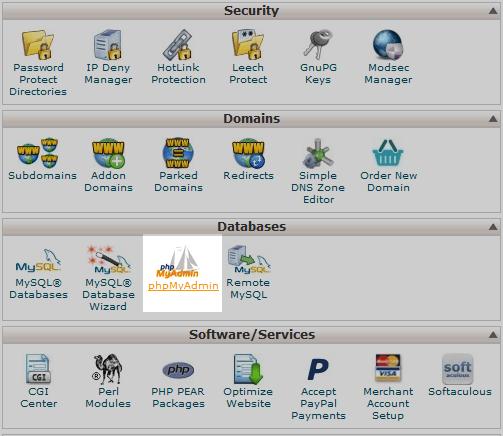 select-phpmyadmin