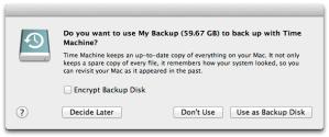 Come fare un backup completo del Mac con Time Machine
