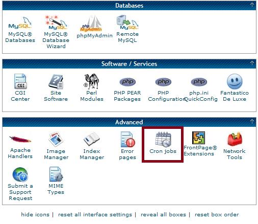 cron-job su cPanel: accortezze e suggerimenti per la gestione (Guide, Assistenza Tecnica, Configurazione Hosting)