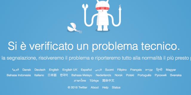 Twitter non funziona, tutti gli aggiornamenti [19/01/2016] (News)