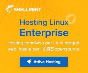 Dettagli offerta: Hosting Linux Enterprise Shellrent