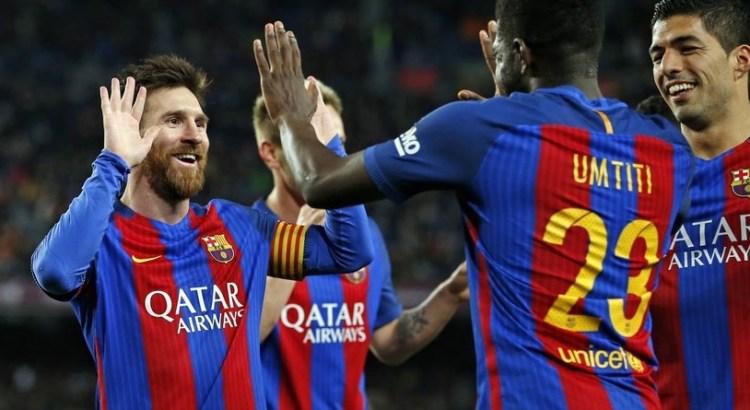 FC Barcelona Beat Celta Vigo 5-0 On Saturday To Complete A Round Of La Liga Matches Undefeated