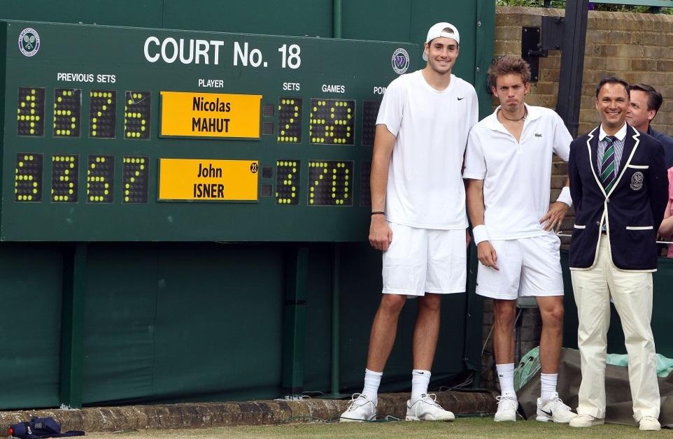 Wimbledon 2010 - Isner - Mahut; Longest Tennis Match Ever