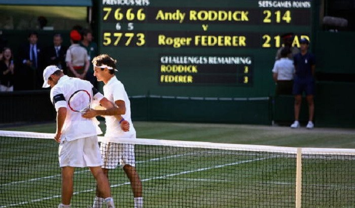 Roddick Wimbledon 2009 16-14