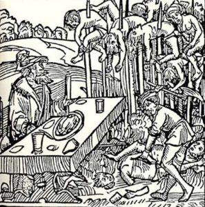 that Vlad the Impaler impaled 20,000 people while enjoying a meal