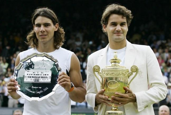 Federer Nadal 2006 Wimbledon