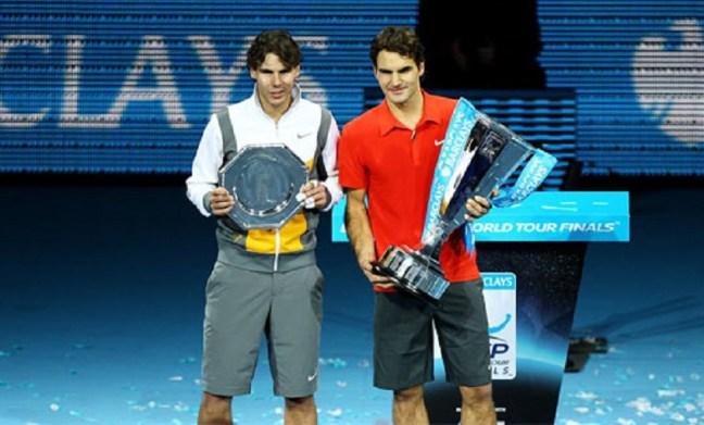 WTF 2010 Federer beat Nadal