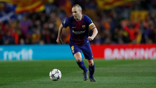 FC Barcelona Greatest XI - Andres Iniesta