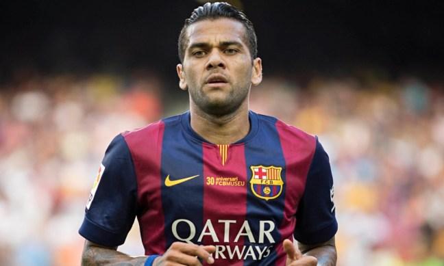 FC Barcelona Greatest XI - Dani Alves
