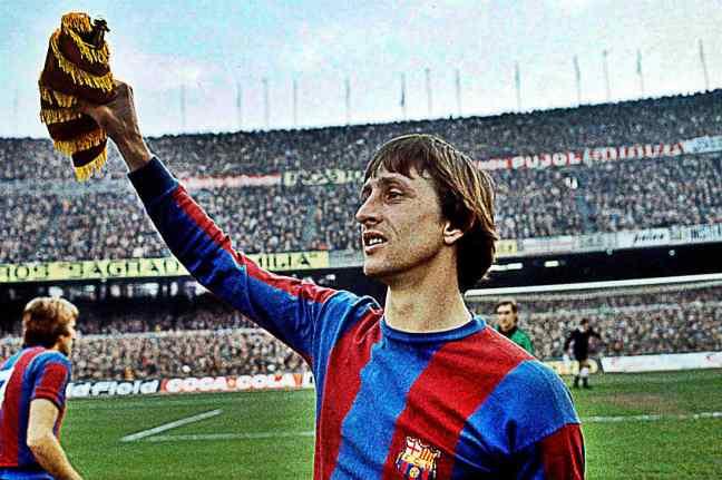 FC Barcelona Greatest XI - Johann Cruyff