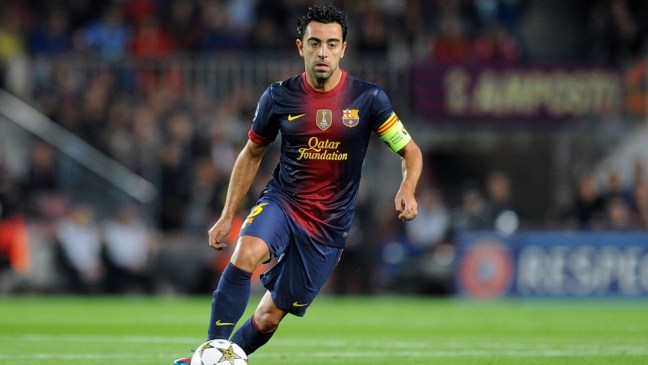 FC Barcelona Greatest XI - Xavi Hernandez