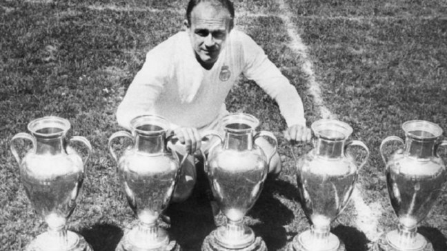 Real Madrid All Time Greatest XI - Alfredo Di Stefano