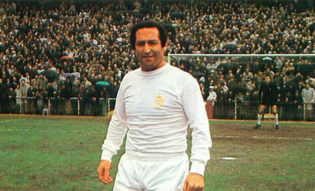 Real Madrid All Time Greatest XI - Francisco Gento