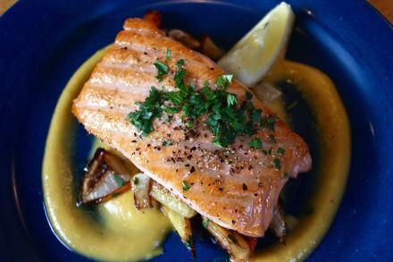 Salmon à la Plancha