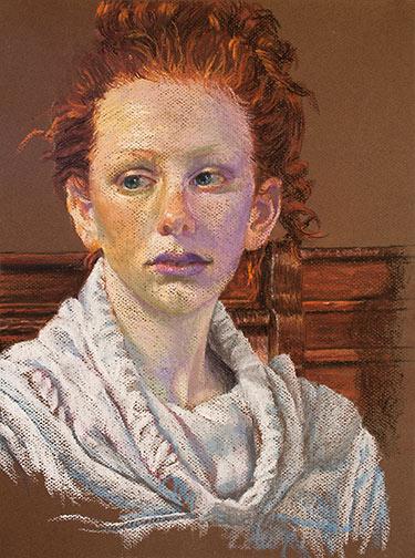 Portrait of Priscilla Image