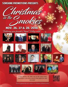 TBF @ Christmas In The Smokies @ MainStay Suites Conference Center | Pigeon Forge | Tennessee | United States