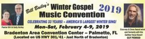Palmetto, FL - Bill Bailey's Winter Sing @ Bradenton Area Convention Center | Palmetto | Florida | United States