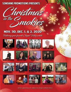 Christmas In The Smokies @ Mainstay Suites Conference Center