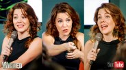 Rachel Tucker appearing at the Wicked UK forum panel on Tuesday Sept 13 for YouTube Space London