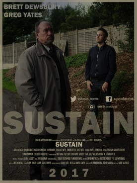 Gregg Yates and Brett Dewsbury in 'Sustain'.