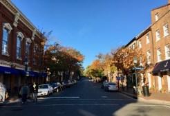 Looking up King Street