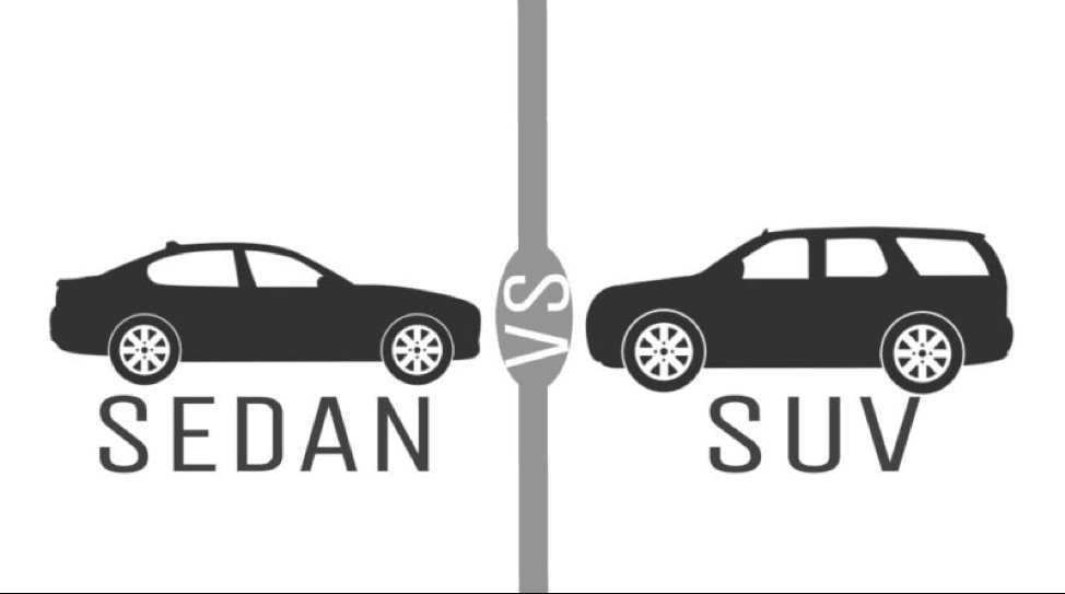 SUV vs. Sedan: Your Complete guide to choosing the right vehicle