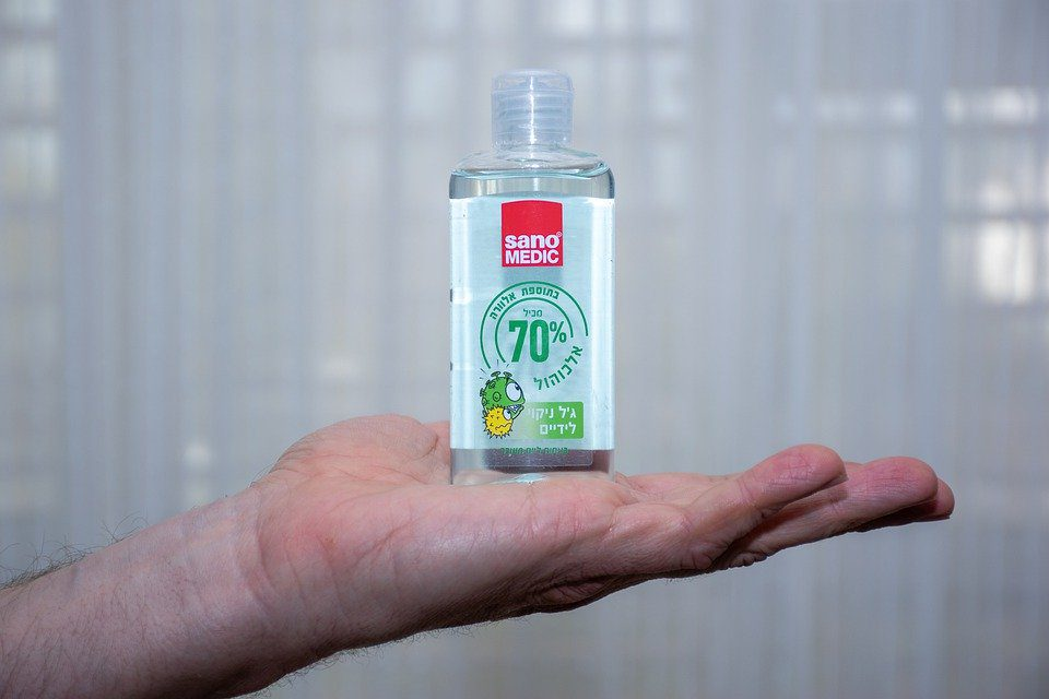 How Hand Sanitizer is Saving the Day