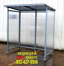 Pre-Assembled Outdoor Prefabricated Smoking Shelter/Shed