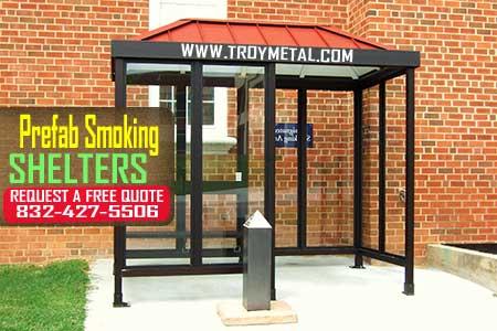 Prefab Smoking Shelters