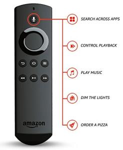 New Fire TV Stick 2 Alexa Remote