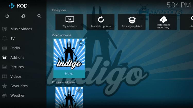 Click Indigo Addon