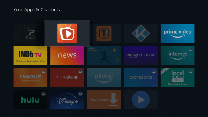 TeaTV is now moved to the front of Your Apps & Channels.