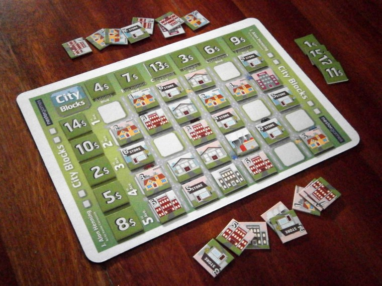 City Blocks board game