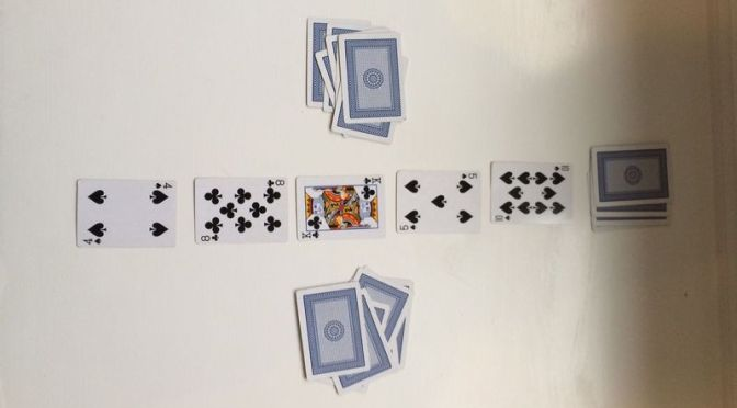 Design Challenge: Standard Deck Adaptation of a Published Game (Rummy Duel)