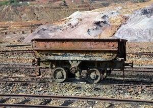 minecart on track