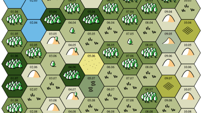 Use Text Mapper to Create Random Maps and Hex Describe to Create Random Campaigns