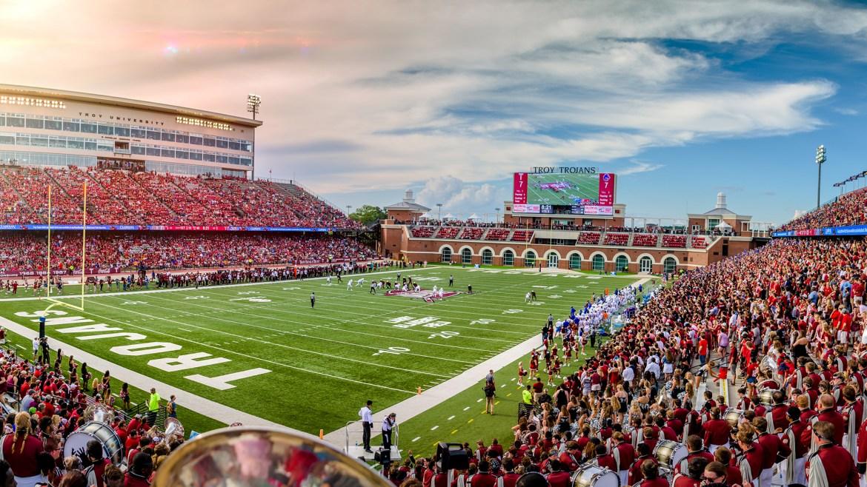 Veterans Memorial Stadium - Facilities - Troy University Athletics