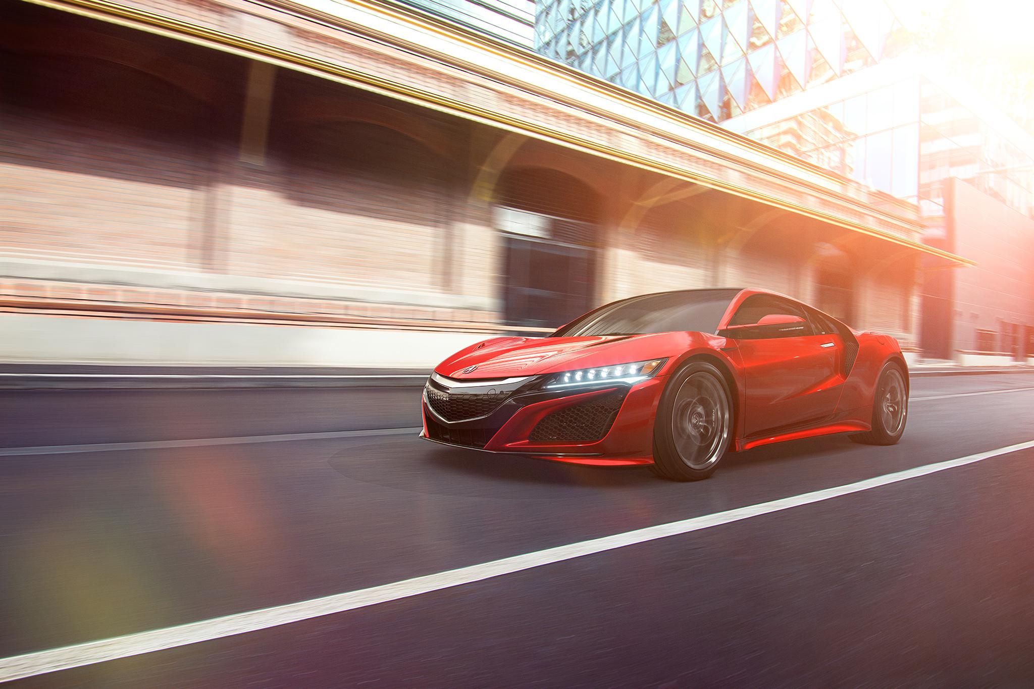 Acura NSX - CGI
