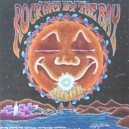 Rock Art By The Bay 2006 poster by Ryan Kerrigan
