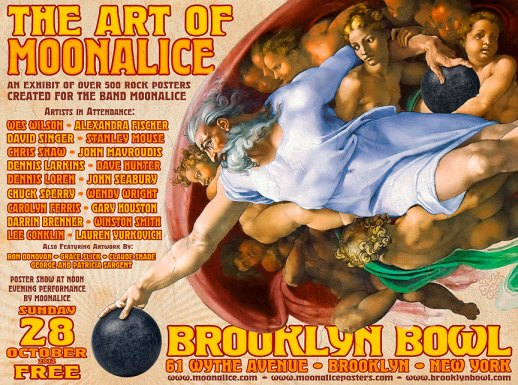 The Art of Moonalice at Brooklyn Bowl on October 28, 2012