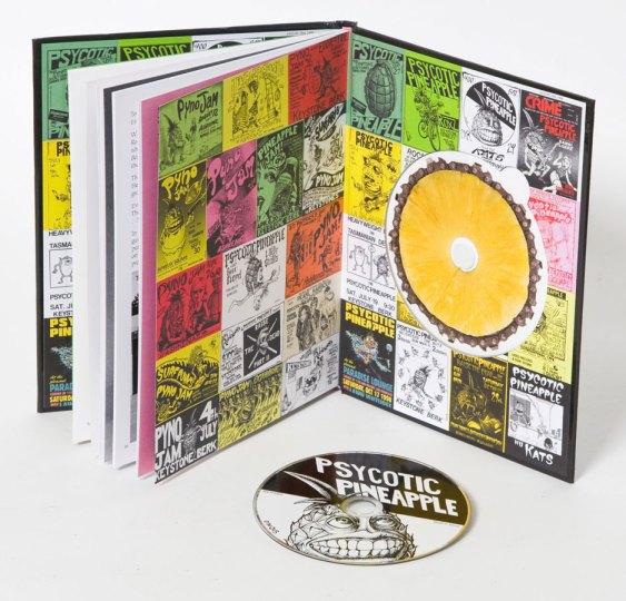 Psycotic Pineapple Book Inside Cover art by John Seabury
