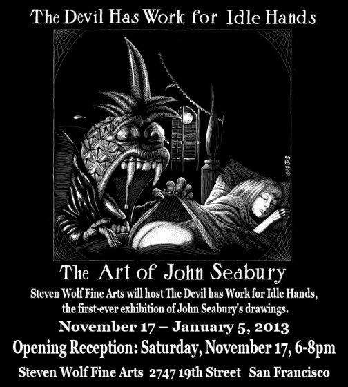 The Art of John Seabury at Steven Wolf Fine Arts 11/17/12