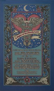 Phil Alvin benefit poster by Gary Houston