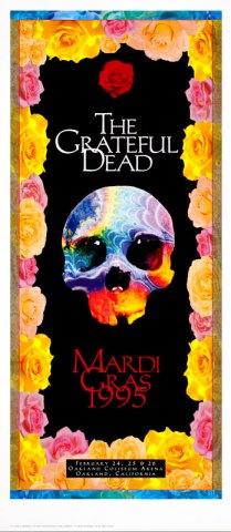 Grateful Dead poster by Troy Alders, 1995