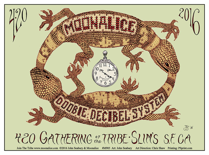 M905 › 420 Gathering of the Tribe, Slim's, San Francisco, CA