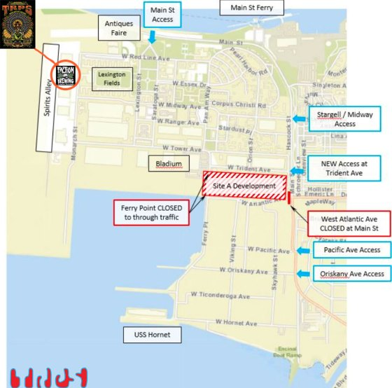 Directions to Rock Art By The Bay 2018