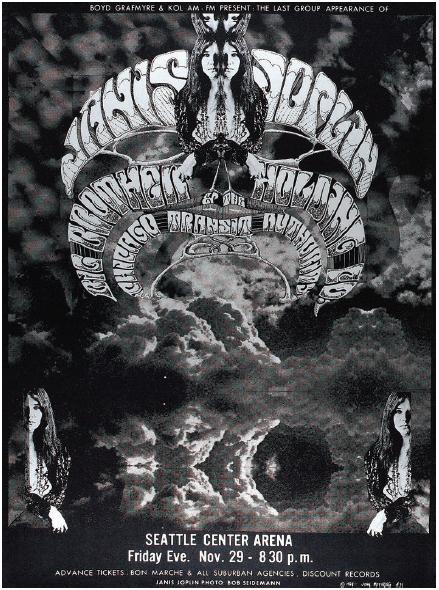"John Moehring, ""Janis Joplin,"" November 29, 1968."